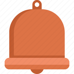 alarm, bell, christmas icon