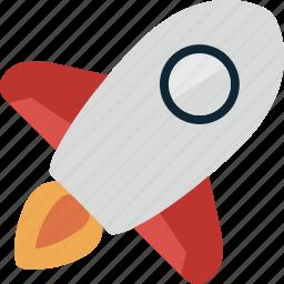 rocket, space, spacecraft, spaceship, station icon