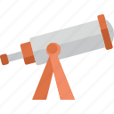 telescope, view, zoom icon