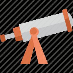 telescope, view, zoom icon