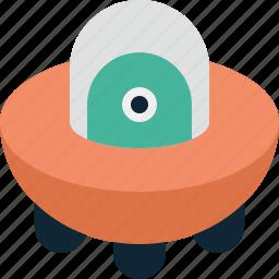 alien, space, ufo, vehicle icon