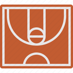 basketball, field, game, sport icon