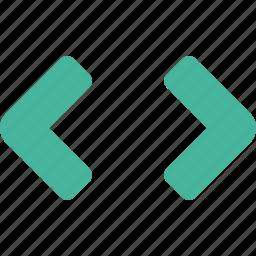 arrow, arrows, text icon