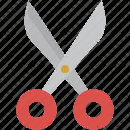 cut, scissor, tool icon
