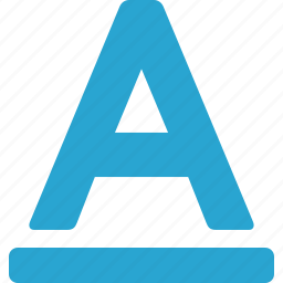 font, letter, text icon