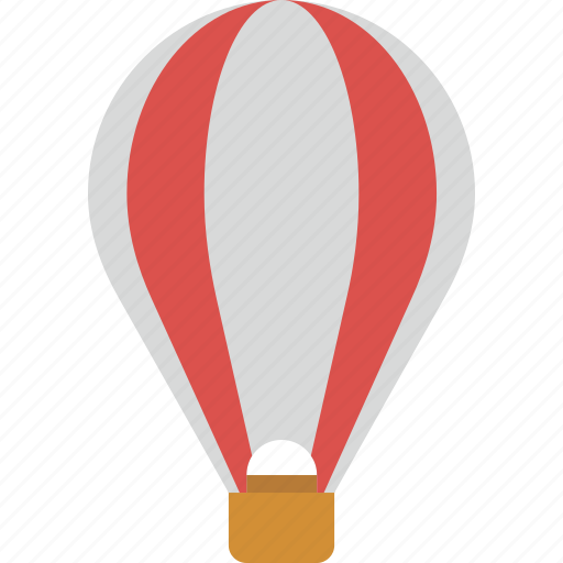 air, balloon, baloon, transport, transportation, travel, vacation, vehicle icon