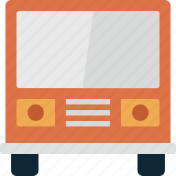 bus, transport, transportation, travel, vacation, vehicle icon