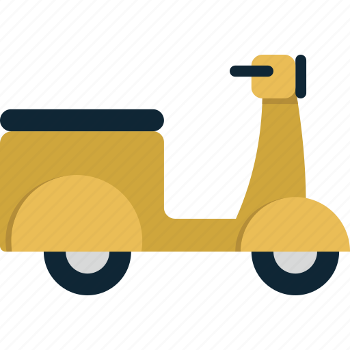 motorcycle, scooter, transport, transportation, travel, vacation, vehicle, vespa icon