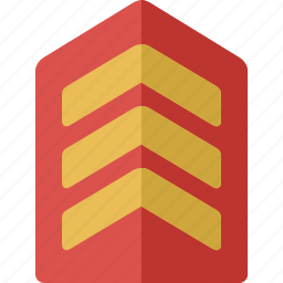 officer, rank icon