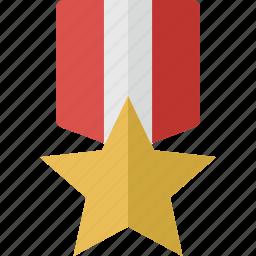 award, favorite, medal, prize, star, winner icon