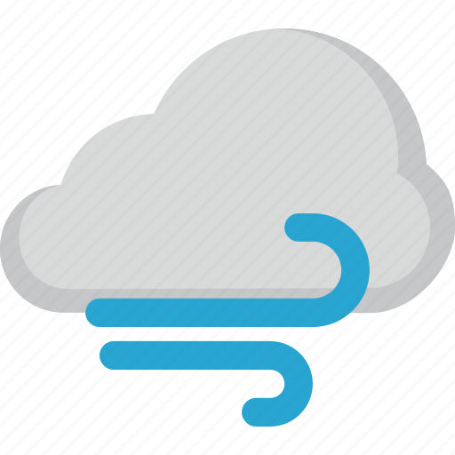 cloud, forecast, weather, wind icon