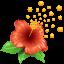 allergen, allergy, flower, pollen, weather icon