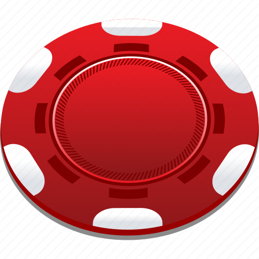 casino, chips, playing, poker, red icon