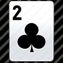 card, casino, clubs, deck, poker