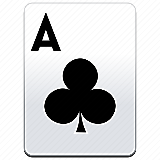 a, ace, aces, card, casino, clubs, deck, poker icon