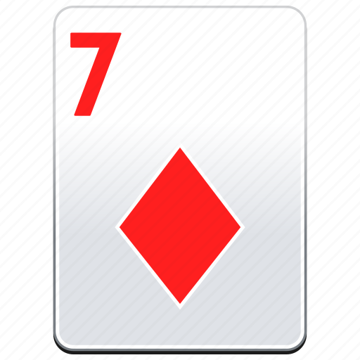 card, casino, deck, diamonds, poker, red icon