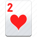 card, casino, deck, hearts, poker icon
