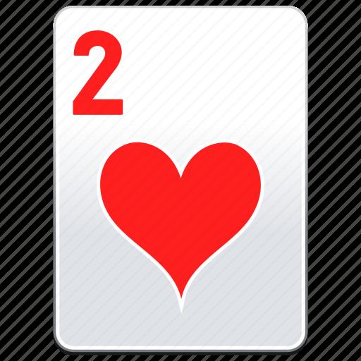 card, casino, deck, hearts, poker icon