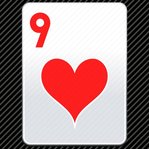 card, casino, hearts, poker icon