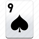 card, casino, poker, spades icon