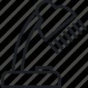 brainstorm, desk lamp, idea, think icon