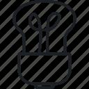 brainstorm, bulb, idea, think icon