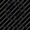 brainstorm, idea, sun, think icon