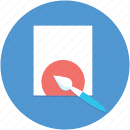 creative, inspiration, paint brush, painting icon