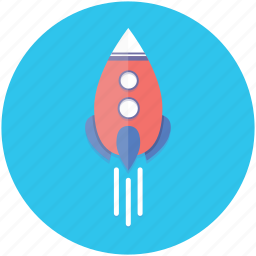 idea, inspiration, launch, motivation, rocket, startup icon
