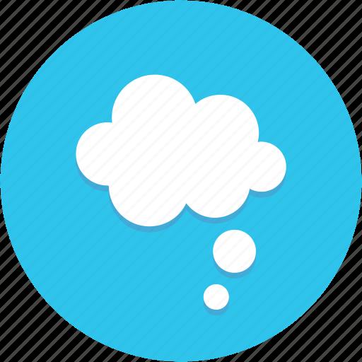 bubble, idea, thinking, thought icon