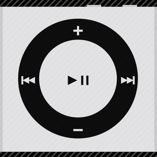 apple, ipod, ipod shuffle, music, player,  icon