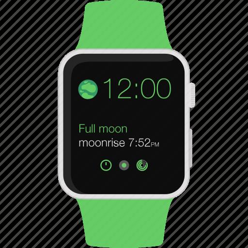 apple, iwatch, smart, sport, watch,  icon