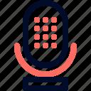 mic, voice icon