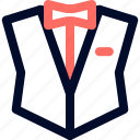 drees, men, tuxedo icon