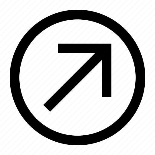 arrow, circle, left, right, up icon