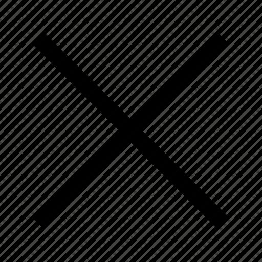 close, computer, cross, delete, it icon