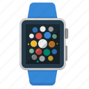 apple, clock, device, iwatch, smart watch, watch, wrist icon