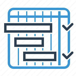 itteration, management, milestones, planning, schedule icon