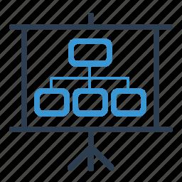 blackboard, management, planning, scheme, strategy, workflow icon
