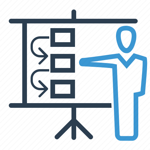 meeting, planning, strategy, workflow icon