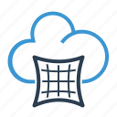 cloud, dynamic, elastic, elasticity, storage icon