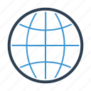 earth, globe, international, internet, network, web, worlwide icon