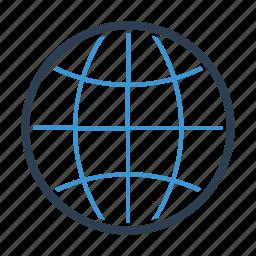 earth, globe, international, internet, network, web, worlwide icon