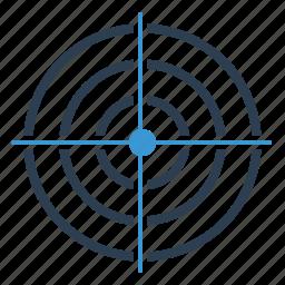 aim, bullseye, business goal, market target, purpose, target, targeting icon