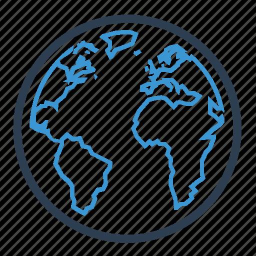 global, international, planet, worldwide icon