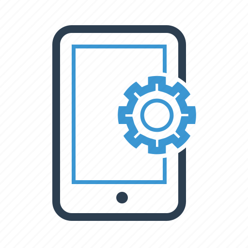 configuration, gear, mobile, mobile marketing, option, phone, settings icon