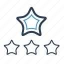 premium, rank, rating, star icon