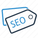 badge, category, price tag, seo tag icon