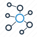 community network, connection, network, relations icon
