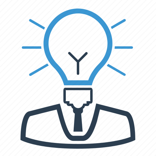 brainstorming, business idea, creativity, imagination, light bulb, solution, thinking icon